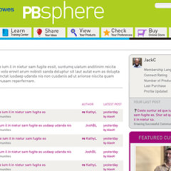 PBS Customer Community Website